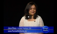 Change Makers: Jaya Basu Interview (excerpts)