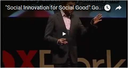 """Social Innovation for Social Good"" Gopi Kallayil at TEDx"